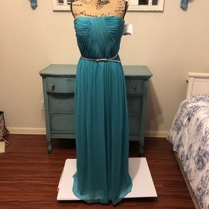 Donna Morgan Prom/Formal Dress Turquoise Blue